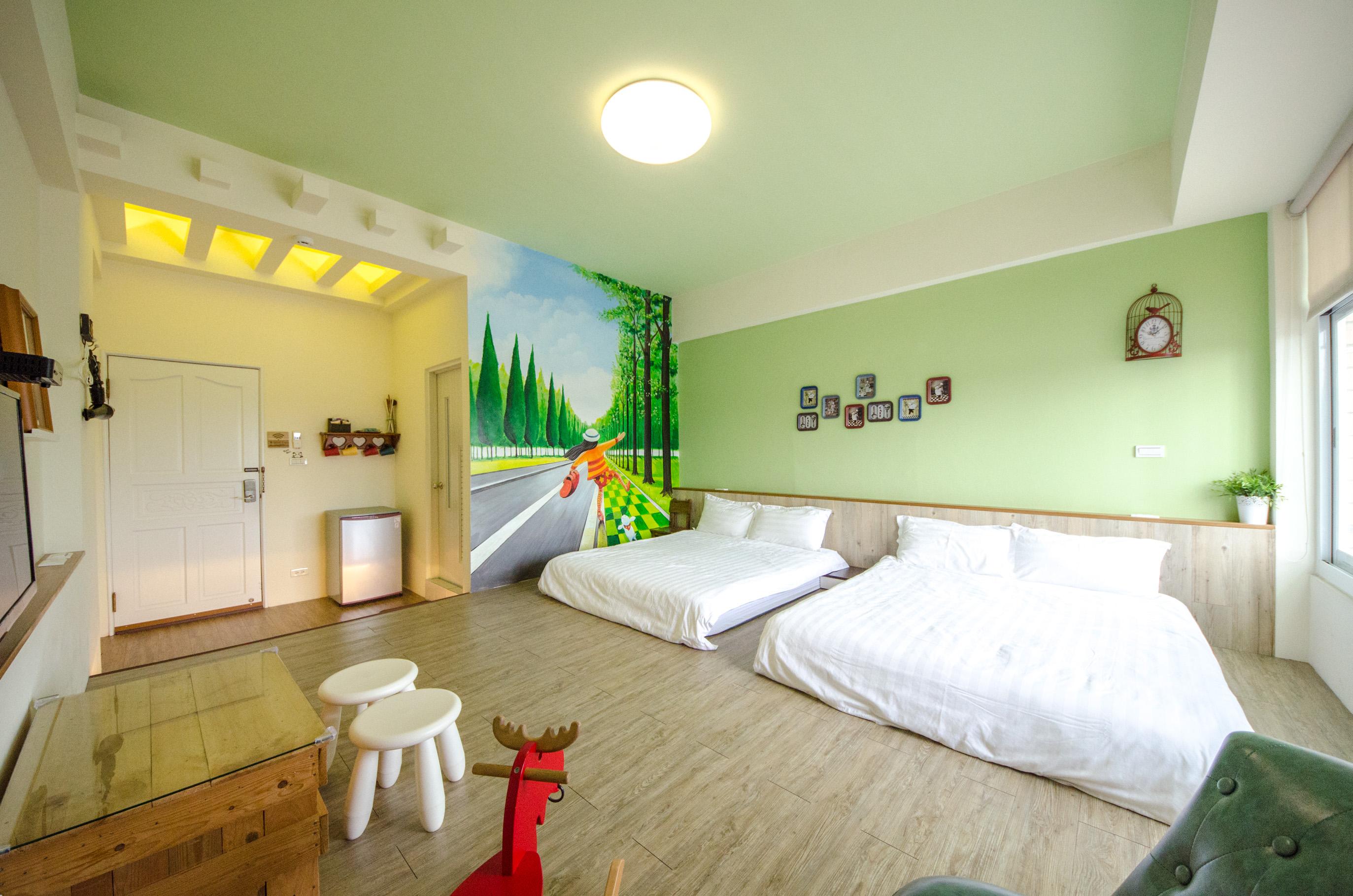綠光4人房
