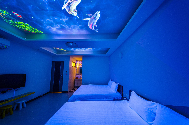 夜光海洋四人房